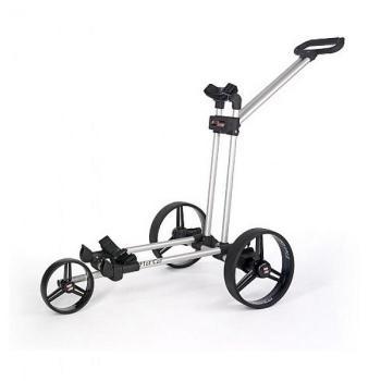 Flat-cat electro Flat-cat electro, kleinste golftrolley ingeklapt slechts 16 cm. op voorraad bij TrolleyWorld