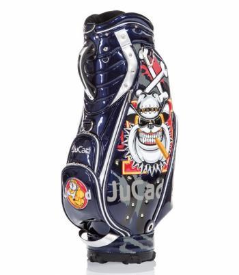 Luxe Jucad golftas blauw met opdruk