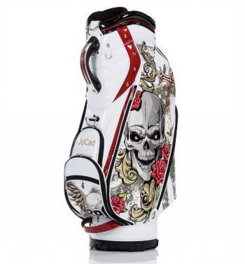 Luxe Jucad golftas wit met opdruk