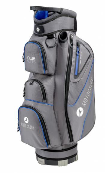 Motocaddy golftas club series blauw