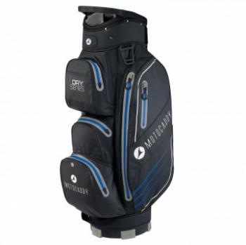 Motocaddy Waterdichte golftas zwart met blauw