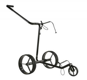 Jucad carbon travel push en pull golftrolley