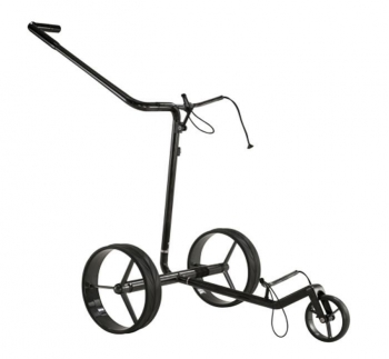 Jucad carbon travel push en pull golftrolley