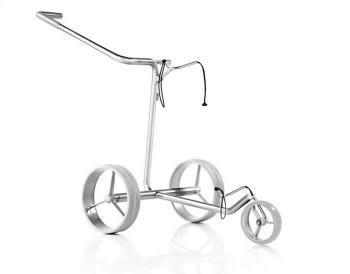 JuStar de prijsbewuste golftrolley de Ster van Titanium