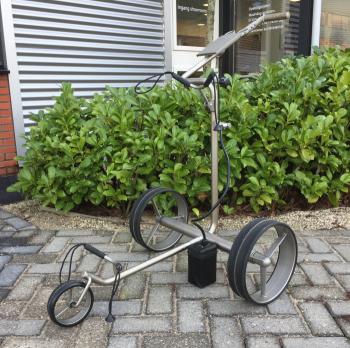 opvouwbare golftrolley Jucad drive