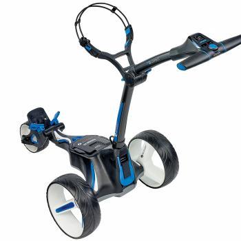 elektrische golftrolley waarmee je kan verbinden via je mobiel van motocaddy