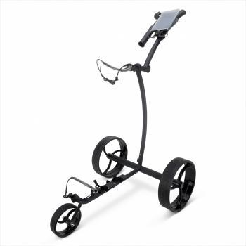 elektrische golftrolley zwart