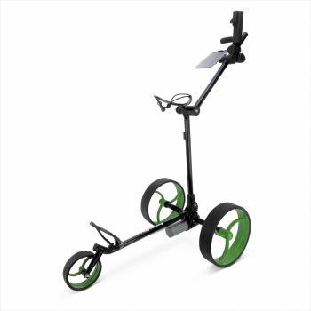 Elektrische golftrolley groen - zwart