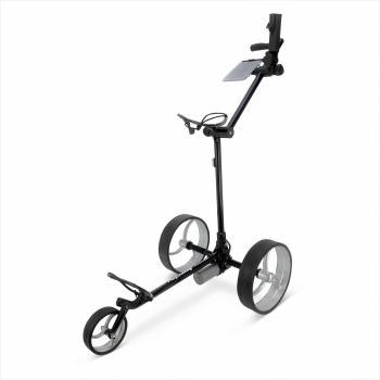 golftrolley zilver - zwart