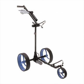 golftrolley zwart - blauw