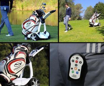 Remote control x9 golftrolley